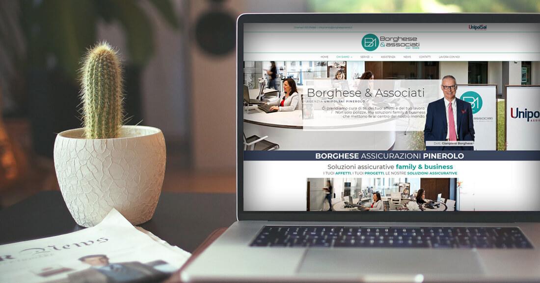 Sito web assicurazione borghese pinerolo